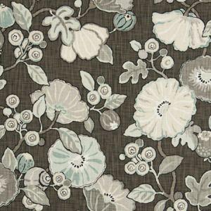 9466201 CONCESSION FLORAL Haze Fabricut Fabric