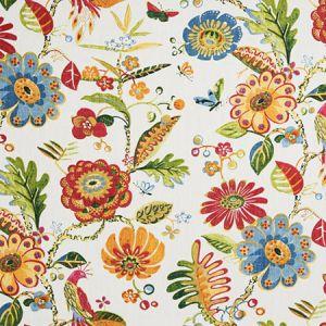 9467501 BIRD FAIR Blossom Fabricut Fabric