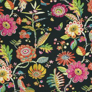 9467502 BIRD FAIR Exotic Fabricut Fabric