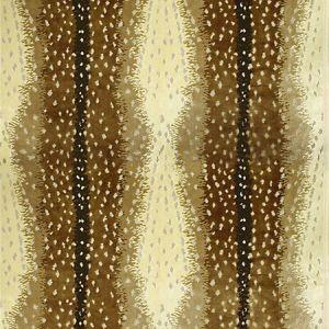 AL 0002BOHE ANTELOPE Tawny Old World Weavers Fabric
