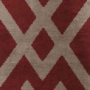 AM100035-916 FITZROY Red Kravet Fabric