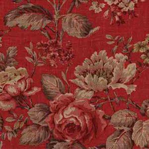 AM100055-19 BOTANIST Red Kravet Fabric
