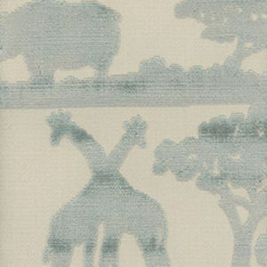 AM100067-15 SAFARI GIRAFFE Duck Egg Kravet Fabric