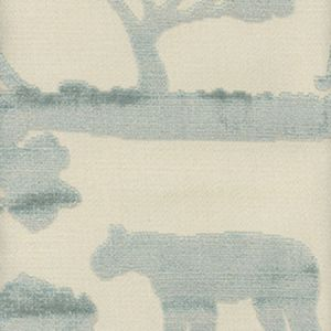 AM100068-15 SAFARI LION Duck Egg Kravet Fabric