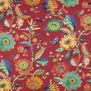 B8925 Red Greenhouse Fabric