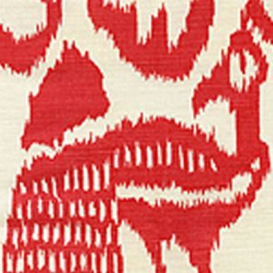 2435-49 BALI ISLE Coral on Tint Quadrille Fabric