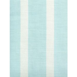 6166-01 BEACH COMBER Bali Blue on White Quadrille Fabric