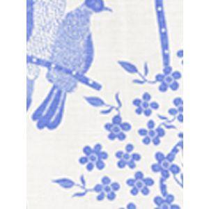 5050-01 BIRDS II China Blue on White Quadrille Fabric