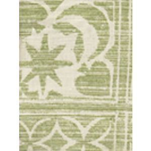 2290-02 BIRINDI Green on Tint Quadrille Fabric