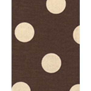 2120-21 CHARADE Cream Dot on Brown Custom Only Quadrille Fabric