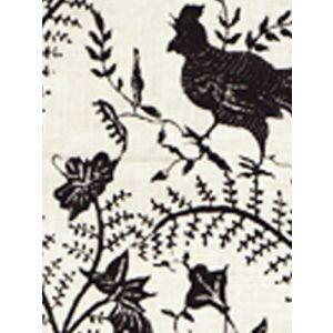 6770CU-13 CIREBON Black on Tint Quadrille Fabric