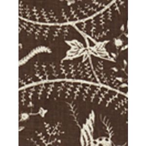 6780CU-10 CIREBON REVERSE Brown on Tint Quadrille Fabric