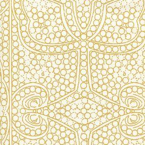 CP1000W-02 PERSIA Camel On Almost White Quadrille Wallpaper