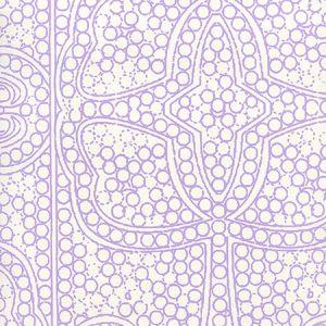 CP1000W-05 PERSIA Lilac On Almost White Quadrille Wallpaper