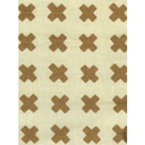 4130-10 CROSS CHECK Camel II on Tint Quadrille Fabric