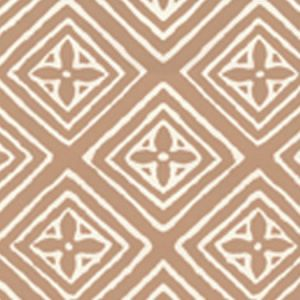 2490-04WP FIORENTINA Camel Ii On Tint Quadrille Wallpaper