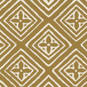 2490-26WP FIORENTINA Gold On Off White Quadrille Wallpaper
