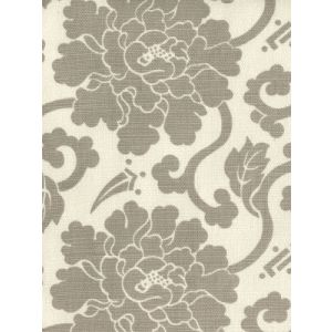 8230-02 FLORALS Grey on Tint Quadrille Fabric