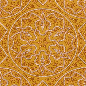 Groundworks Pellegrini Gold Fabric