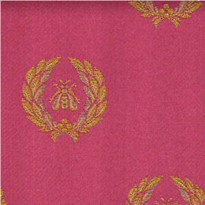 H0 00014035 AIGLON Gold-Rouge Scalamandre Fabric