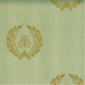 H0 00024035 AIGLON Gold-Vert Scalamandre Fabric