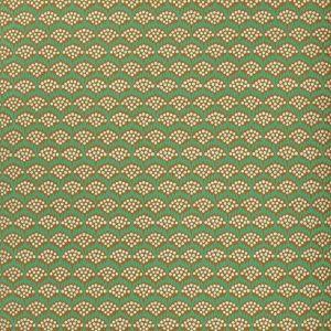 WV8POL-6 POLLEN Emerald Clarence House Wallpaper