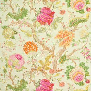 9987-3 CH ARBRE DE VIE WP Rani Pink Green Clarence House Wallpaper