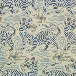 9985-6 TIBET WALLPAPER Cream Clarence House Wallpaper