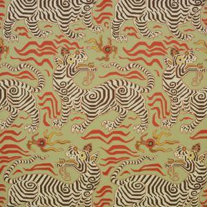 9985-4 TIBET WALLPAPER Pale Green Clarence House Wallpaper