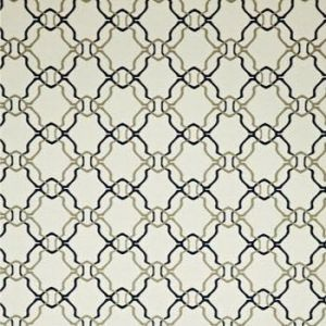 WV7ALA-04 ALADDIN Navy Cream Clarence House Wallpaper
