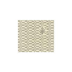 302233F CARLO II Grey on Curtain Weight Quadrille Fabric