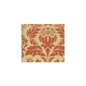 HC1290T-10 CHELSEA Tomato on Tan Quadrille Fabric