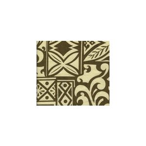 HC1250H HAIGHT ASHBURY Cognac on Tan Quadrille Fabric