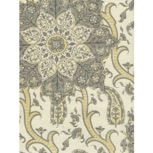 HC1970C-01 KASHMIR EXOTIQUE Grays  Quadrille Fabric