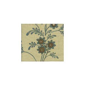 HC1260T-02 LORRAINE Vapor Coco on Tan Quadrille Fabric