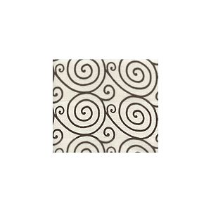 HC1470L-08 MEDITATION Brown on Oyster Quadrille Fabric
