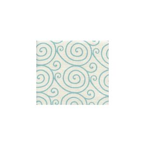 HC1470L-05 MEDITATION Turquoise on Oyster Quadrille Fabric