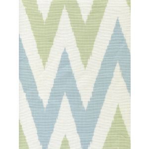 306020F TASHKENT II SMALL SCALE Soft Windsor French Green on White Quadrille Fabric