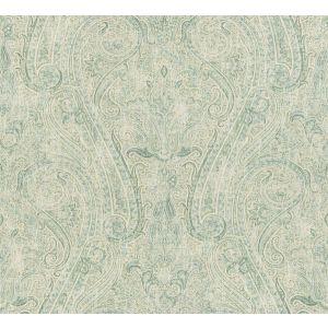 LICATA PAISLEY Robin's Egg Fabricut Fabric