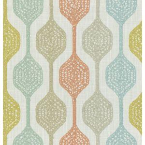 9445201 PINGPONG Aqua Garden Fabricut Fabric