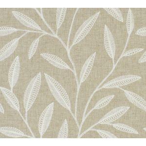 WHIPPLE LEAVES Linen Fabricut Fabric