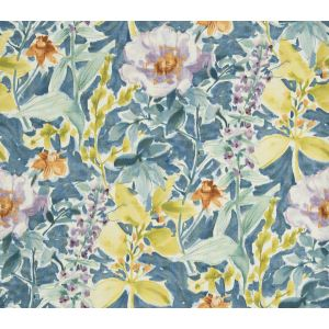 9464601 PRIZE FLORAL Cornflower Fabricut Fabric