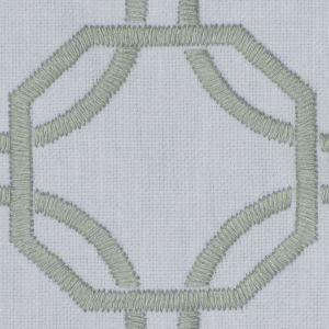 AVANTA LATTICE Aqua Fabricut Fabric