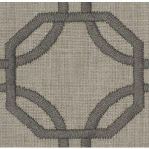 AVANTA LATTICE Silver Fabricut Fabric