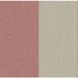 FALL IN LINE Rhubarb Fabricut Fabric