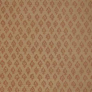 WOODHALL SISAL Rust On Sienna Stroheim Wallpaper