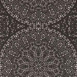 50048W BOHEMIA CHIC Onyx 01 Fabricut Wallpaper