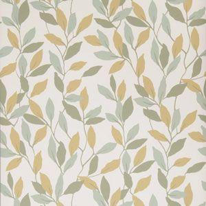 50074W JENNY VINE Loden 03 Fabricut Wallpaper