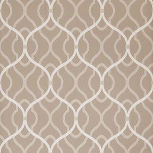 50094W PASSA OGEE Shale 02 Fabricut Wallpaper