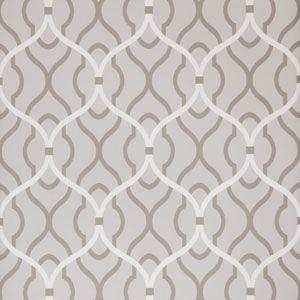 50094W PASSA OGEE Dove 03 Fabricut Wallpaper